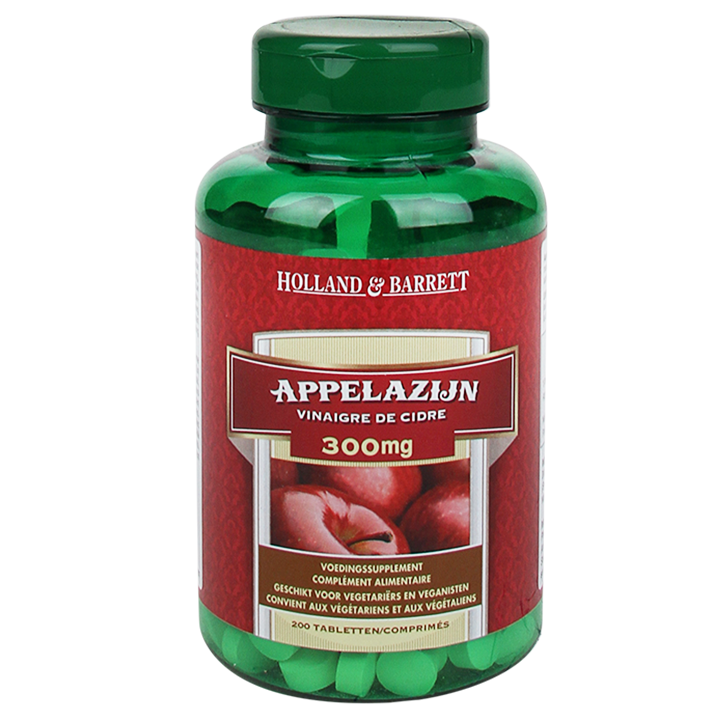 Holland & Barrett Appelazijn, 300mg (200 Tabletten)