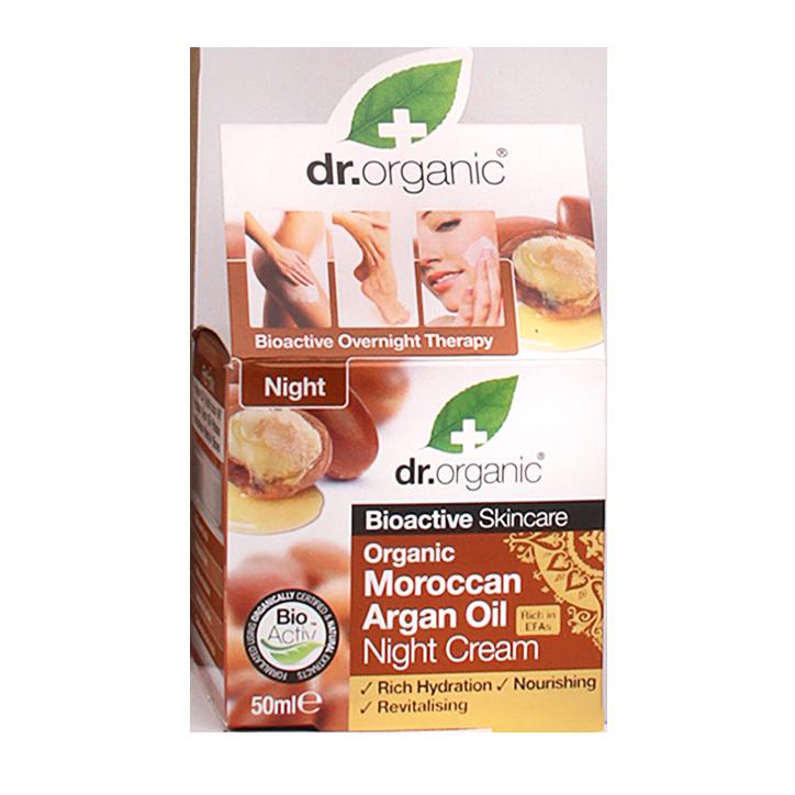 Dr. Organic Moroccan Argan Oil Night Cream