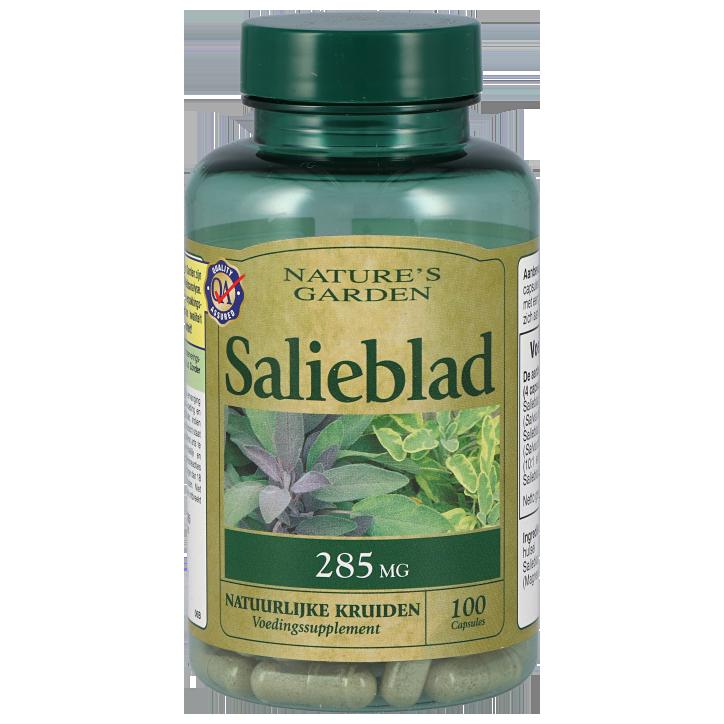 Nature's Garden Salieblad 285mg 100 Capsules
