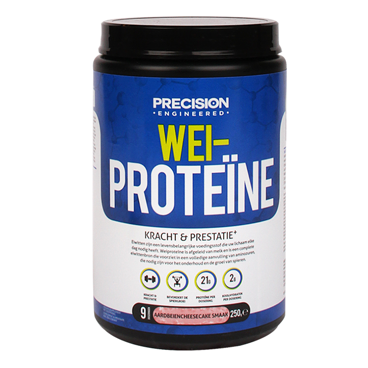 Precision Engineered Whey Protein Aardbei Cheesecake 250gr
