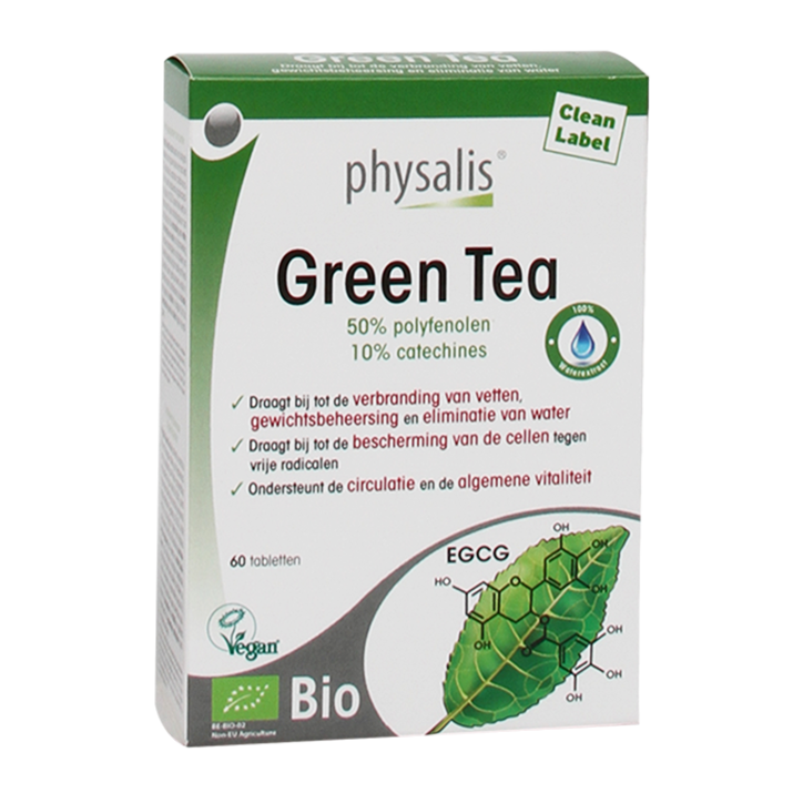 Physalis Green Tea Bio (60 Tabletten)