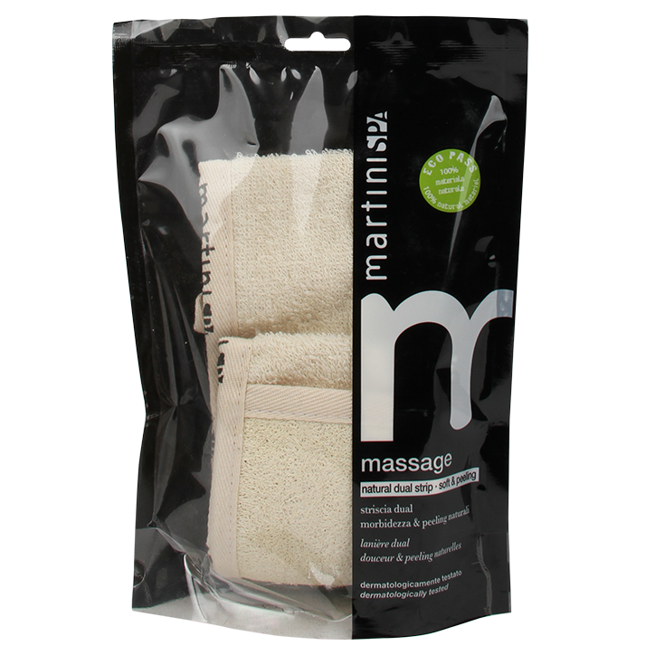 Martini Spa Massage Scrubband Katoen