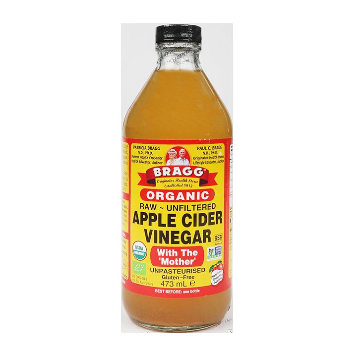 Bragg Apple Cider Vinegar Troebel Bio 473ml