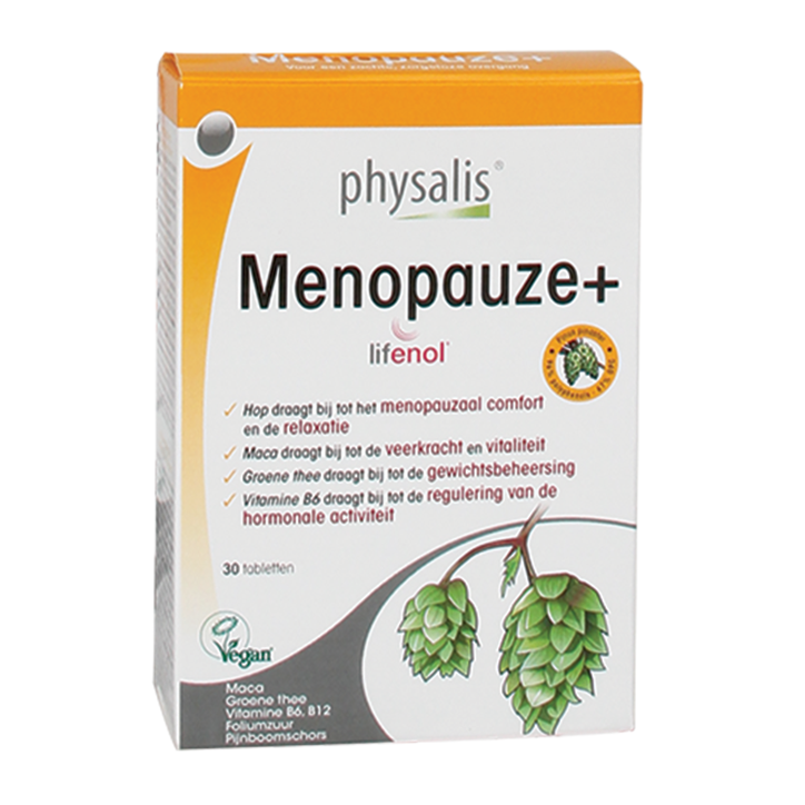 Physalis Menopauze+ (30 Tabletten)