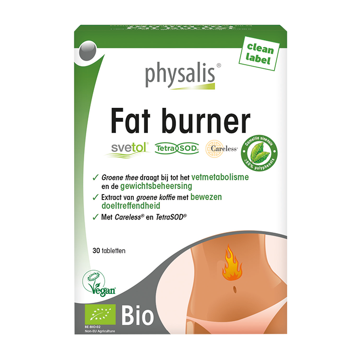Physalis Fat Burner Bio (30 Tabletten)