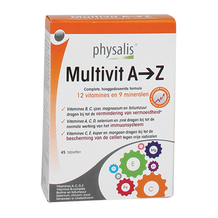 Physalis Multivit A-Z (45 Tabletten)