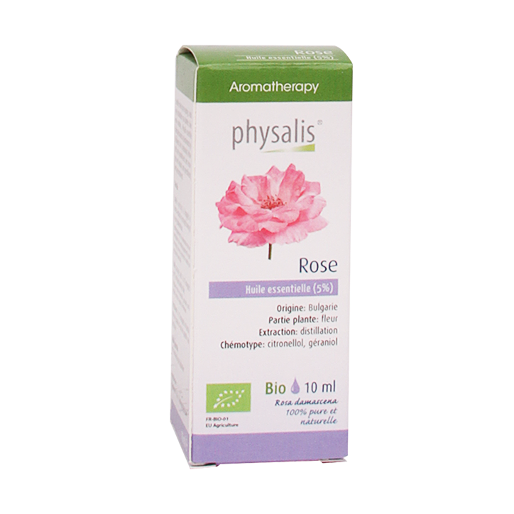 Physalis Roos 5% Olie Bio (10ml)