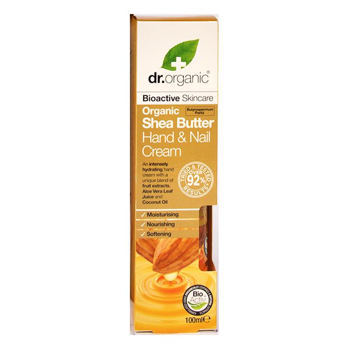 Dr. Organic Shea Butter Hand & Nail Cream