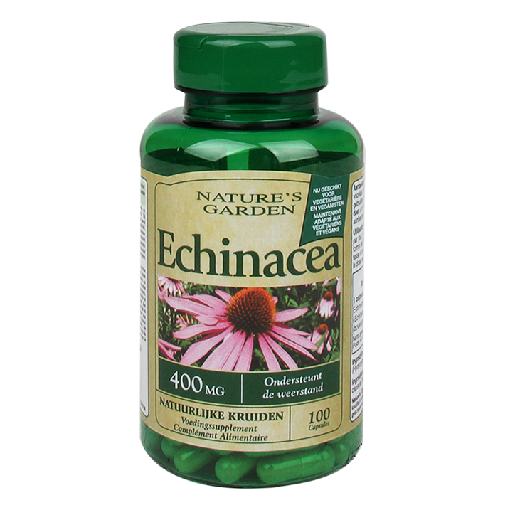 Nature's Garden Echinacea, 400mg (100 Capsules)