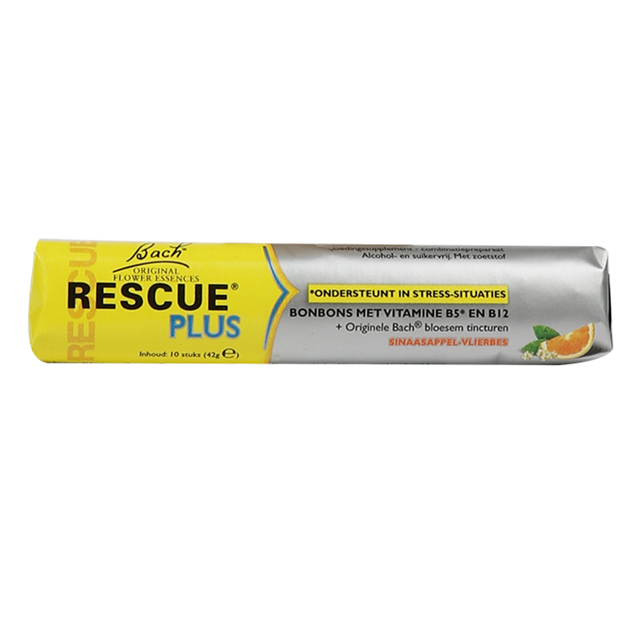 Bach Rescue Plus Vitaminen Bonbons (10 stuks)
