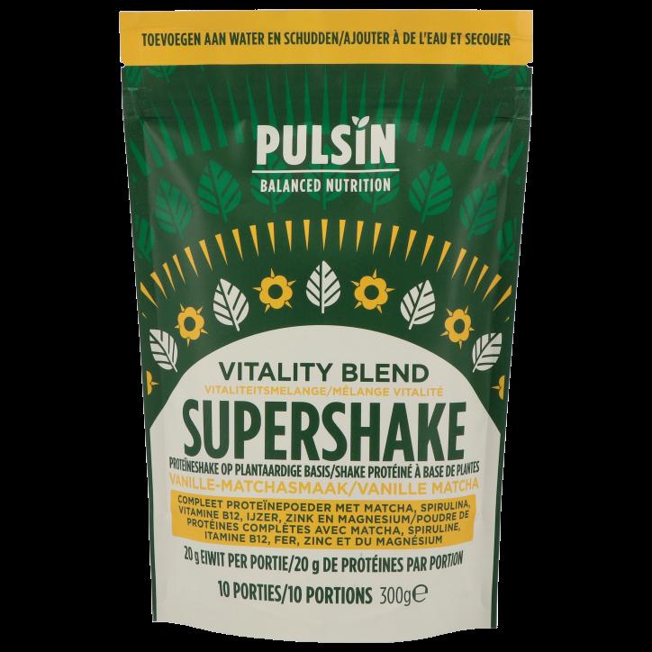 Pulsin Supershake Vitality Blend (300gr)