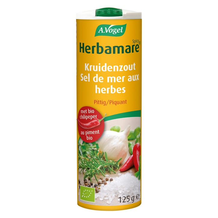 A.Vogel Herbamare Spicy Kruidenzout (125gr)