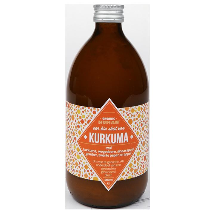Organic Human Energy Shot Kurkuma (500ml)
