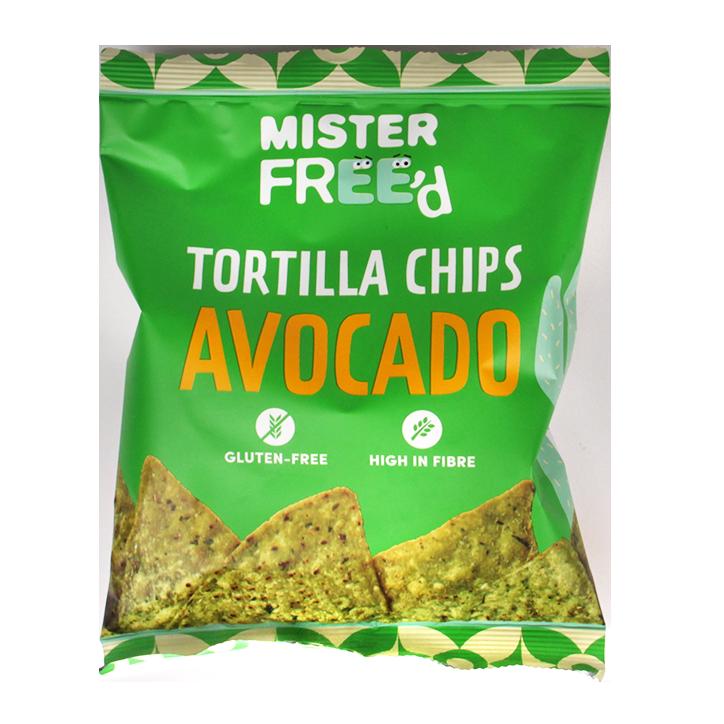 Mister Free'd Tortilla Chips Avocado (40gr)