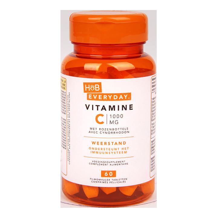 H&B Everyday Vitamine C, 1000mg (60 Tabletten)