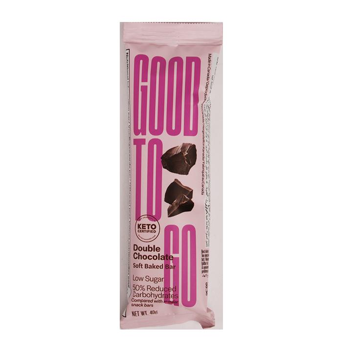 Good To Go Double Chocolate Keto Bar (40gr)