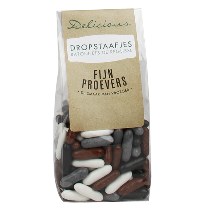Delicious Dropstaafjes