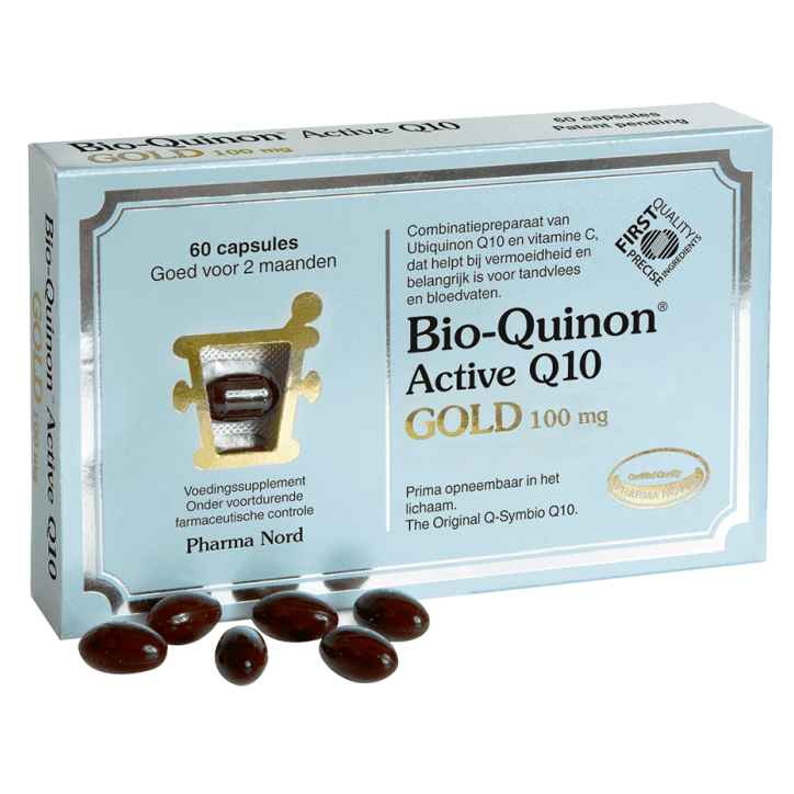 Pharma Nord Bio-Quinon Q10 Gold, 100mg (60 Capsules)