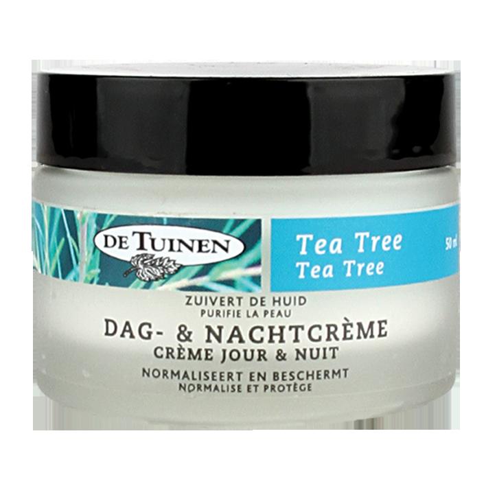 De Tuinen Tea Tree Dag En Nachtcrème 50ml