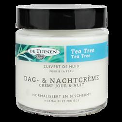 GOED BEZIG DEAL 70% korting   De Tuinen Tea Tree Dag En Nachtcrème 120ml
