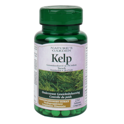 Nature's Garden Kelp, 15mg (250 Tabletten)