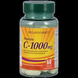 Holland & Barrett Vitamine C, 1000mg (60 Tabletten)
