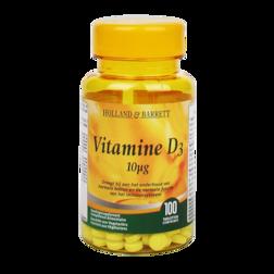 1+1 gratis | Holland & Barrett Vitamine D3, 10mcg (100 Tabletten)