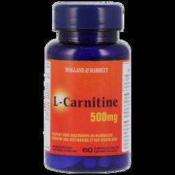 Holland & Barrett L-Carnitine 500mg 60 Tabletten