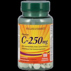 GOED BEZIG DEAL 60% korting | Holland & Barrett Vitamine C ,250mg (100 Tabletten)