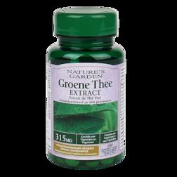 Nature's Garden Groene Thee, 315mg (100 Tabletten)