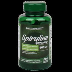 1+1 gratis | Holland & Barrett Spirulina, 500mg (200 Tabletten)