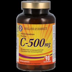 1+1 gratis | Holland & Barrett Vitamine C, 500mg (90 Kauwtabletten)