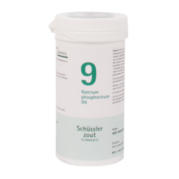 Schüssler Zout 9 Natrium Phosphoricum D6 (400 Tabletten)