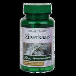 Holland & Barrett Zilverkaars, 50mg (60 Tabletten)