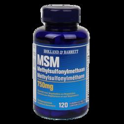 Holland & Barrett MSM, 750mg (120 Tabletten)