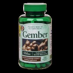 Nature's Garden Gember 550mg 100 Capsules