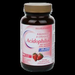 Holland & Barrett Kauwbare Acidophilus Aardbei (100 Kauwtabletten)