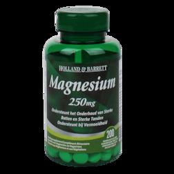 Holland & Barrett Magnesium, 250mg (200 Tabletten)