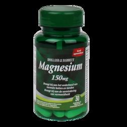 1+1 gratis | Holland & Barrett Magnesium Bisglycinaat, 150mg (30 Tabletten)