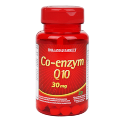Afbeelding van Holland & Barrett Co-Enzym Q10, 30mg (50 Tabletten)
