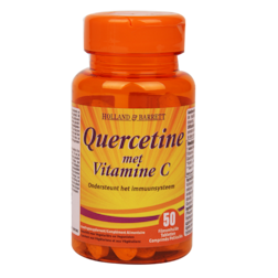 1+1 gratis | Holland & Barrett Quercetine met vitamine C (50 Tabletten)