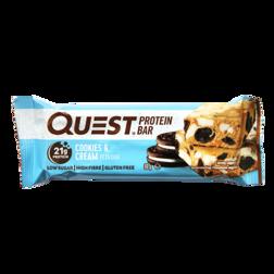 Quest Protein Bar Cookies Cream 60g
