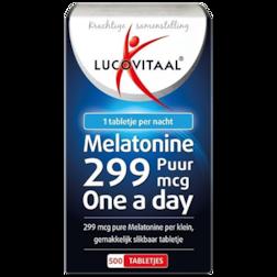 Lucovitaal Melatonine Puur, 0.299mg (500 Tabletten)