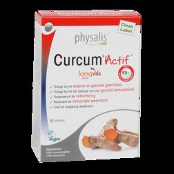 15% korting | Physalis Curcum Actif (30 Tabletten)