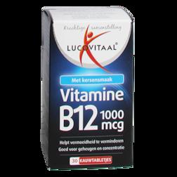 Lucovitaal Vitamine B12, 1000mcg (30 Kauwtabletten)