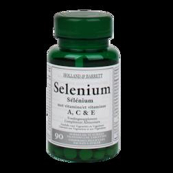 Holland & Barrett Selenium Met Vitamine A, C En E (90 Tabletten)