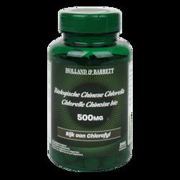 Holland & Barrett Biologische Chinese Chlorella, 500mg (240 Tabletten)