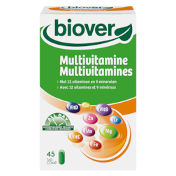 Biover Multivitaminen (45 Tabletten)