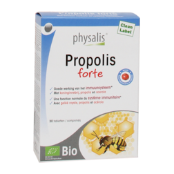 15% korting | Physalis Propolis Forte (30 Tabletten)