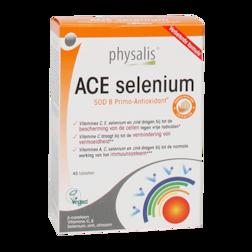 Physalis ACE Selenium + Groene Thee (45 Tabletten)